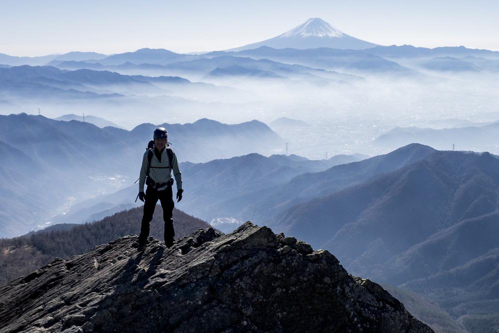 山梨の冬の山歩き