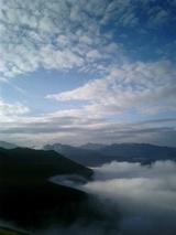 山旅実況生ブログ「薬師岳から槍を遠望」