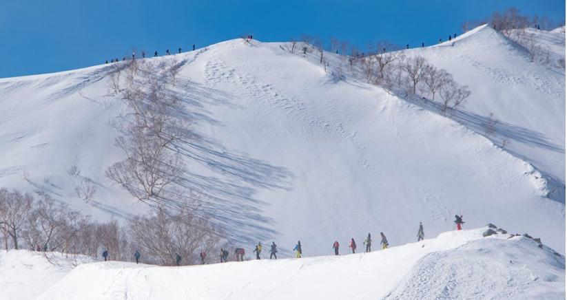 白馬の山スキー!