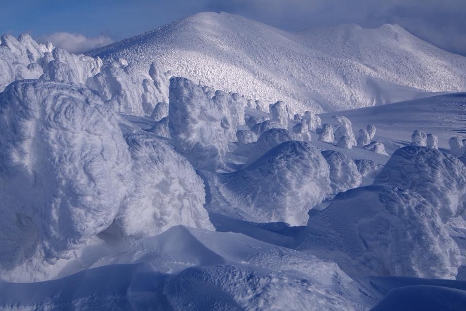 八甲田山の樹氷《美しい日本の風景》