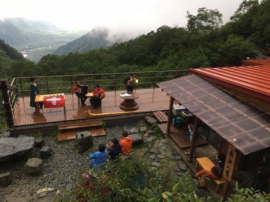岳沢の音楽祭