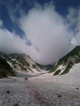 山旅実況生ブログ「大雪渓進行中」