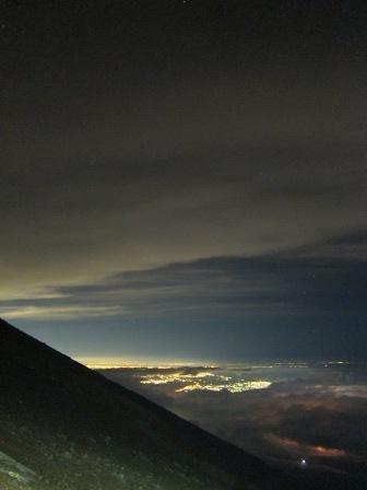 ガイド報告「富士山登頂&ご来光+お鉢巡り」