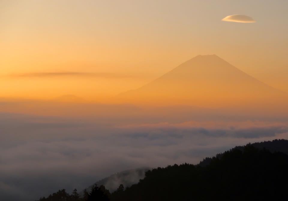 ひさしぶり富士山