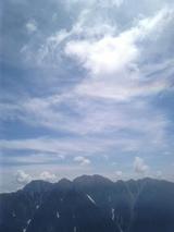 山旅実況生ブログ「穂高と大空」