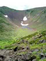 山旅実況生ブログ「羊蹄山の山頂火口」