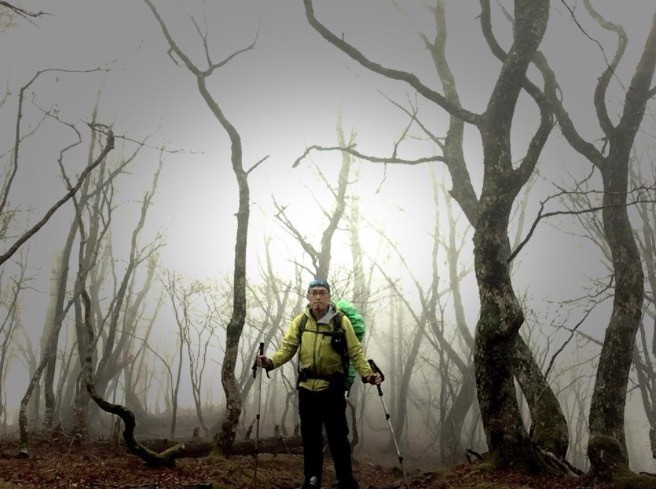 大峯の森を歩く