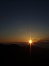 山旅実況生ブログ「北岳からのご来光」