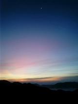 山旅実況生ブログ「稜線の朝20日」