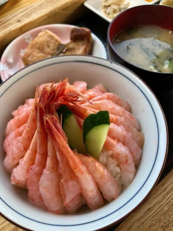 日本の美しい丼!