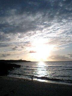 17時23分 まだこんなに日が高い与那国島
