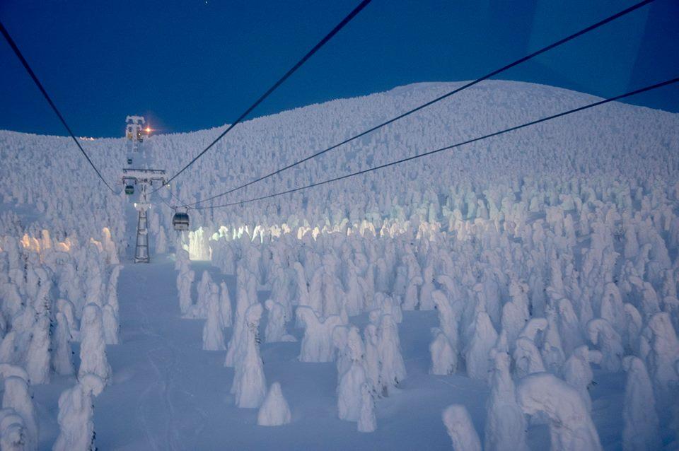 蔵王の樹氷《美しい日本の風景》