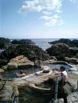 山旅実況生ブログ「海の温泉」