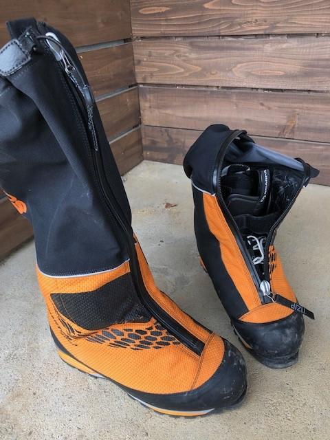 デナリへの道  005装備編-登山靴