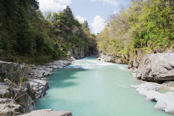 手取川渓谷-2