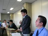 問屋場設立総会〜山田代表挨拶