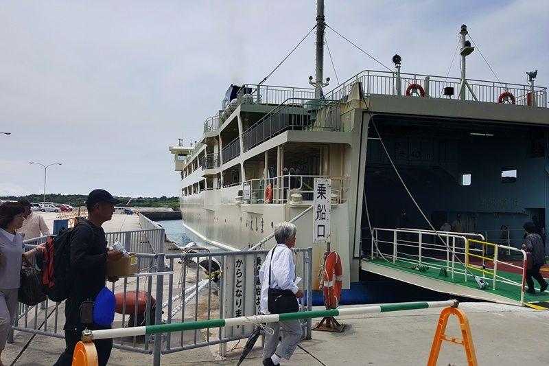 161015-ferry to Iejima