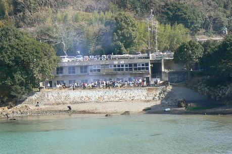 絶景レストラン「浦村牡蠣」
