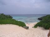 砂山ビーチ。