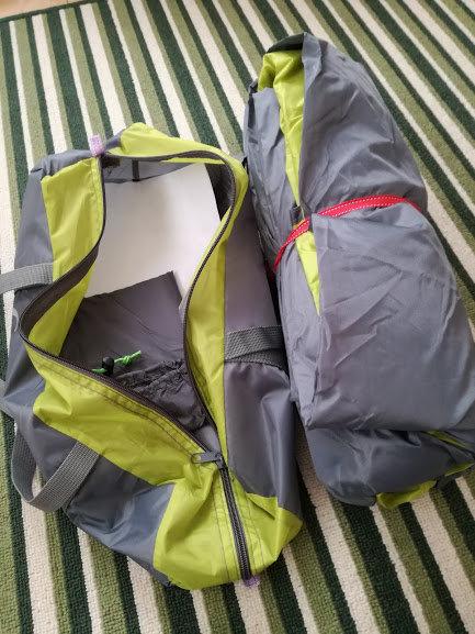 格安自立式テント