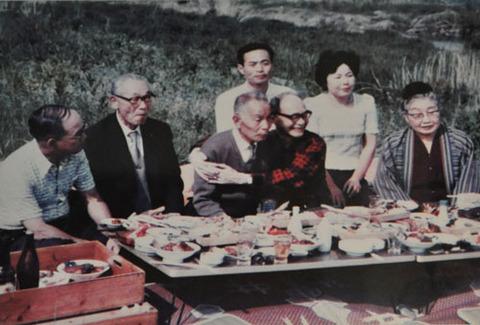 昭和49年に訪れた棟方志功1