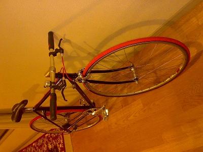 塗装自転車完成角度別