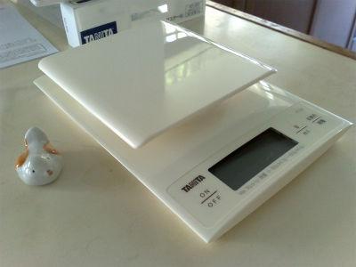 TANITA はかりKD-320-WH (5)