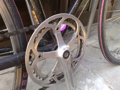 ロードバイクフレーム塗装後 (2)
