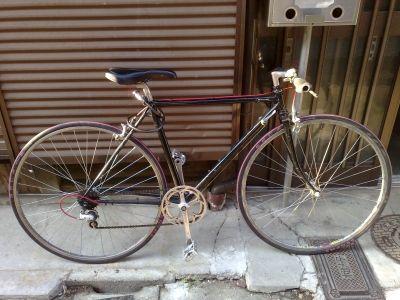 ロードバイクフレーム塗装後