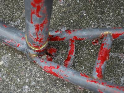 自転車フレーム塗装 (3)