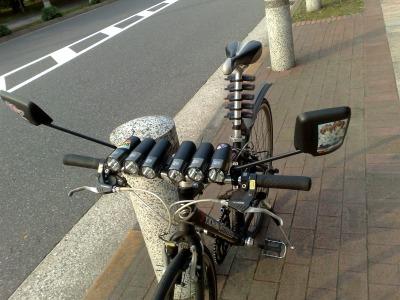 お台場の自転車