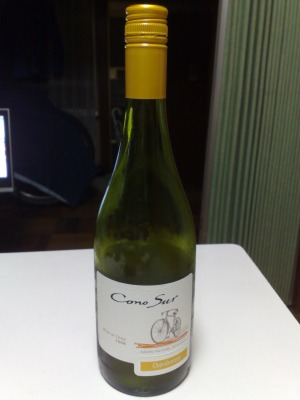 自転車ワイン
