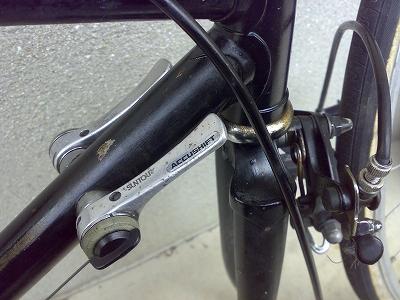 自転車フレーム塗装前4