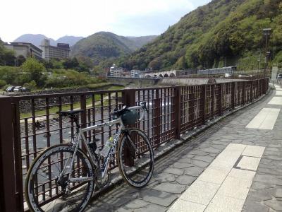 自転車で箱根