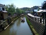 佐原街並み中央を流れる小野川
