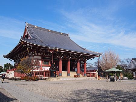本門寺の本堂
