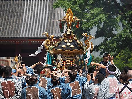 浅五会の神輿