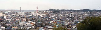 諏訪山展望台からの光景