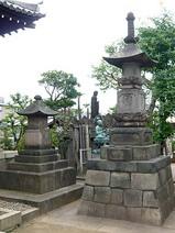 観音寺の四十七士慰霊塔