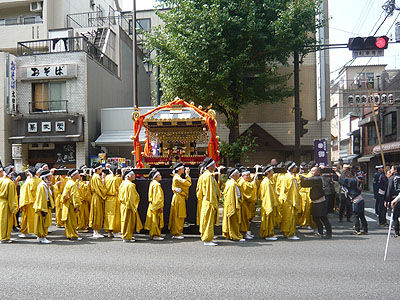根津神社神輿