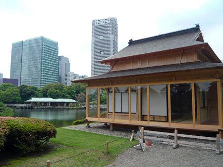 浜離宮松の茶室