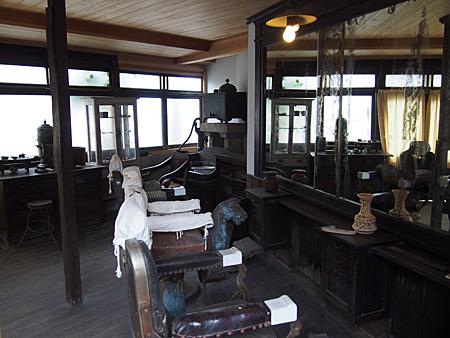 栃木で最も古い床屋だとか