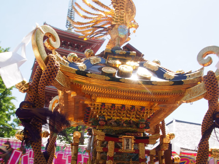 浅三東の神輿