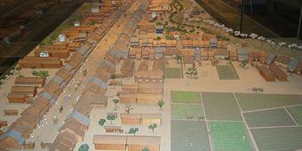 内藤新宿の模型