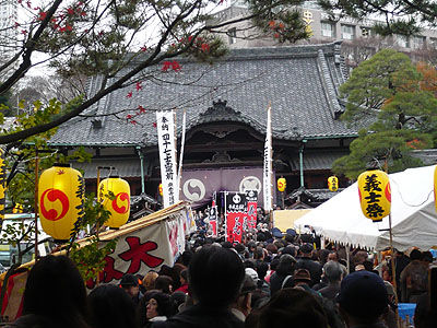 泉岳寺義士祭