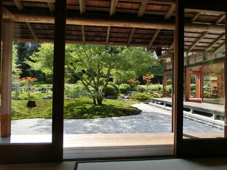 長寿寺の書院