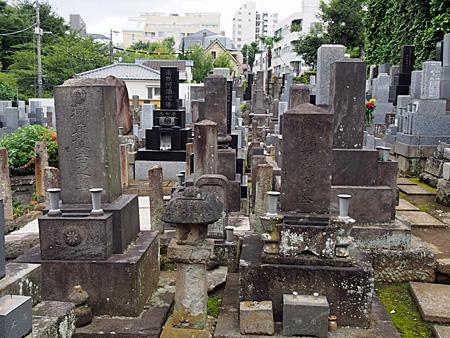 榊原鍵吉の墓所