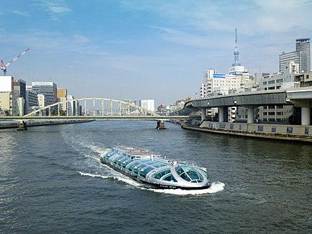 両国橋から隅田川