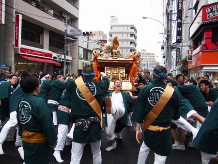 天王祭 神輿