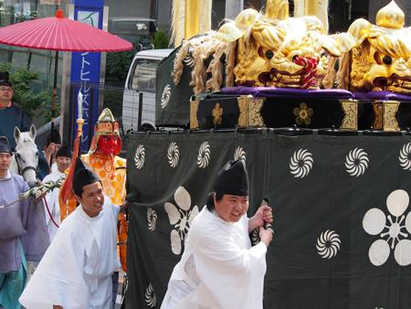 湯島天神 神幸祭